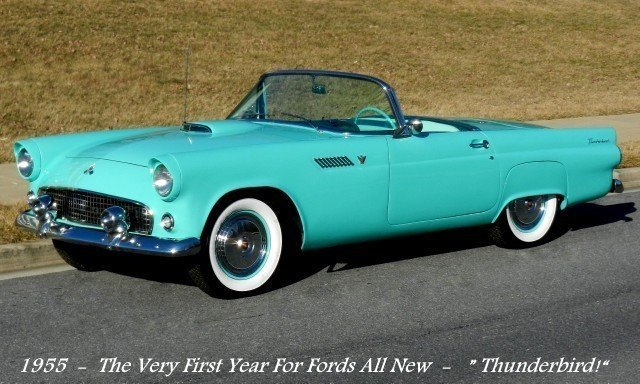 1955 ford thunderbird 1955 ford thunderbird convertible. Black Bedroom Furniture Sets. Home Design Ideas