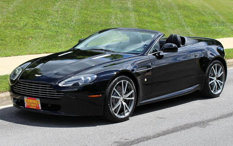 2010 Aston Martin Vantage Volante Convertible