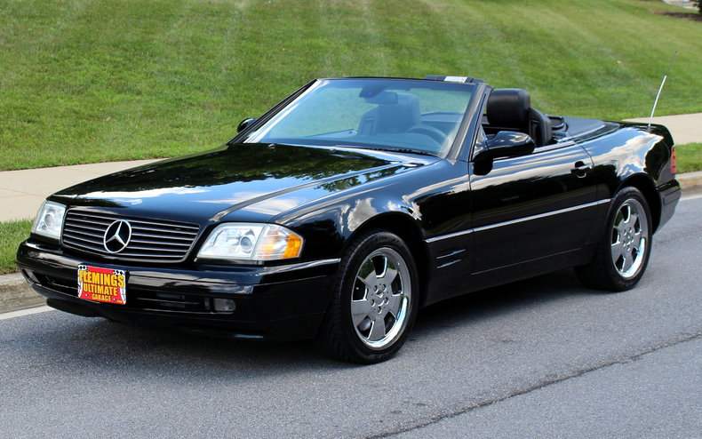 2000 Mercedes Benz SL500