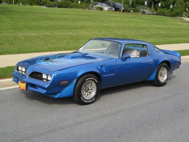 1978 Pontiac Trans Am 1978 Pontiac Trans Am Ws6 And W72 Blue For Sale To Buy Or Purchase