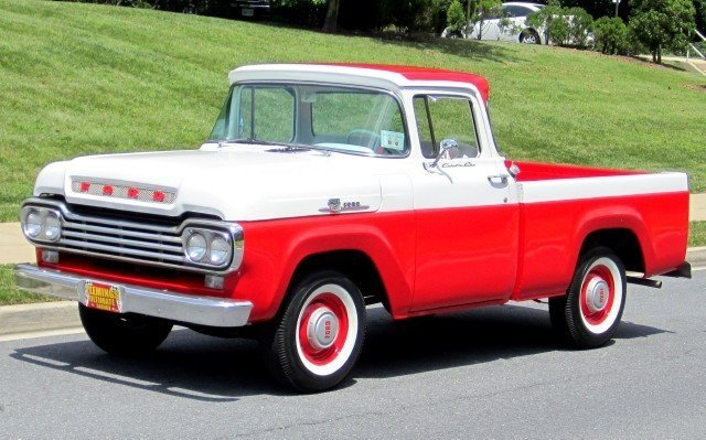 1959 ford f 100 1959 ford f100 for sale to purchase or for Garage ford 59