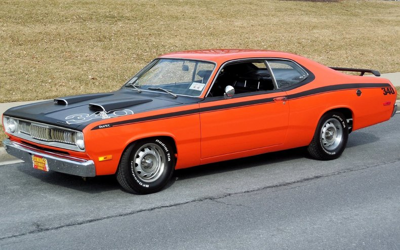 1972 pymouth duster 1972 plymouth duster for sale to buy or purchase flemings ultimate. Black Bedroom Furniture Sets. Home Design Ideas