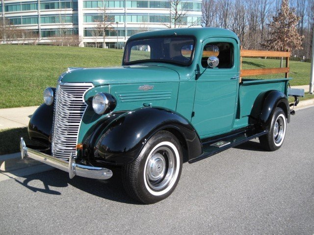 1938 Chevrolet Pick Up 1938 Chevrolet Pickup For Sale To