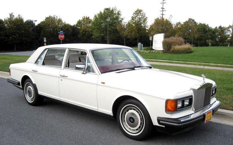 1991 Rolls Royce Silver Spur 1991 Rolls Royce Silver