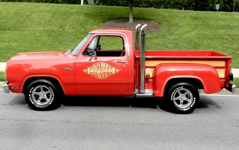 Cars For Sale Under 1000 >> 1979 Dodge Lil Red Express | 1979 Dodge Pickup For Sale To Buy or Purchase | Classic Cars For ...