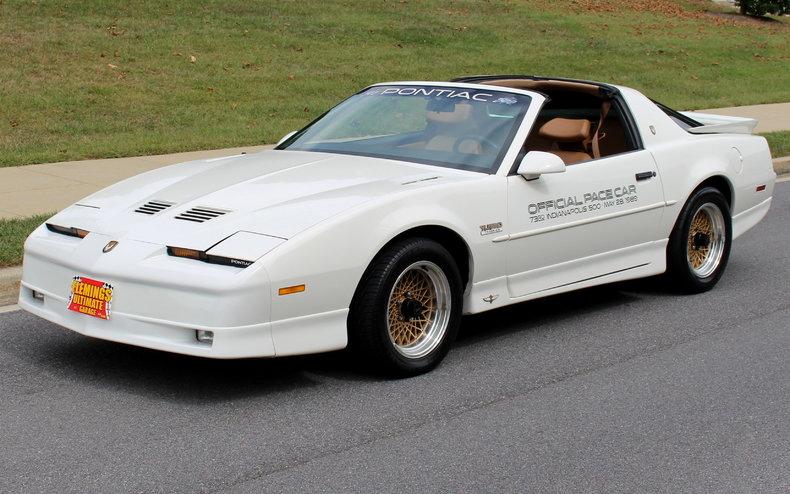 Trans Am Indy Pace Car For Sale