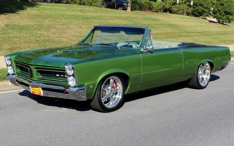 Pro Touring Muscle Cars For Sale >> 1965 Pontiac GTO | 1965 Pontiac GTO Pro-Touring Convertible for sale to purchase or buy ...