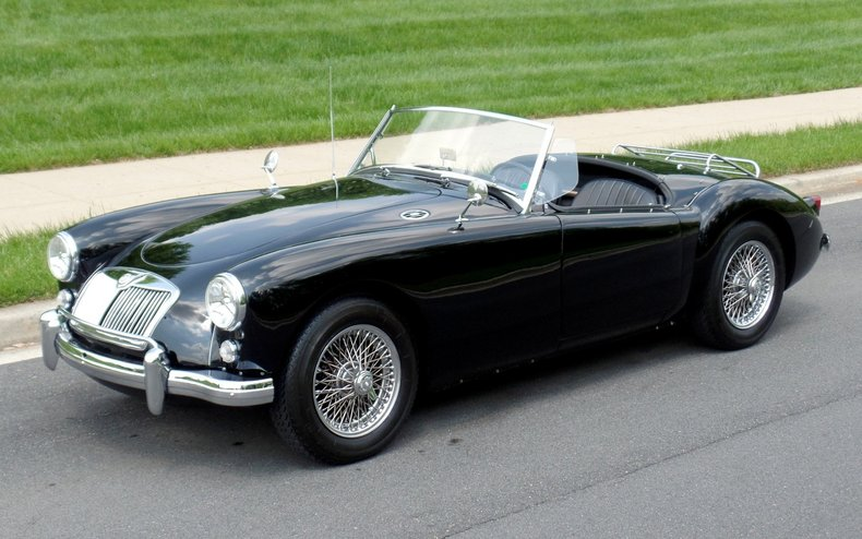 1958 mg mg a 1958 mg mga convertible for sale to for Classic american convertibles for sale