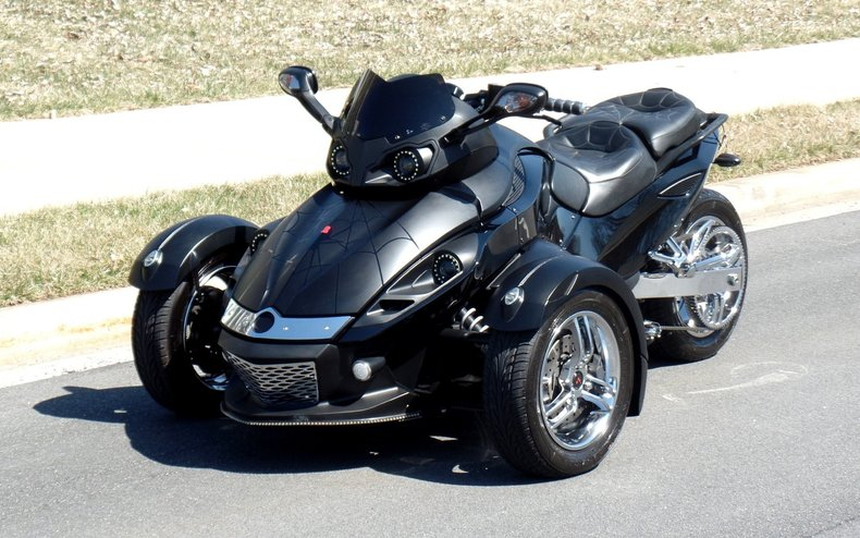 2008 can am spyder 2008 can am spyder for sale to purchase or buy flemings ultimate garage. Black Bedroom Furniture Sets. Home Design Ideas