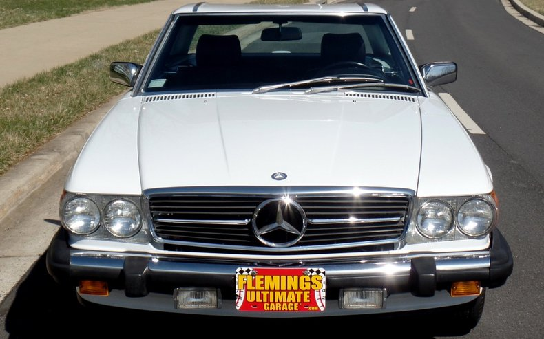 1987 mercedes 560sl 1987 mercedes benz 560sl for sale to for Garage mercedes auxerre 89