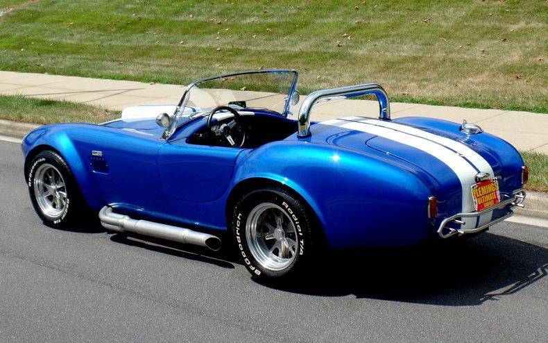 1965 Shelby Cobra 1965 Shelby Cobra 427 Roadster For