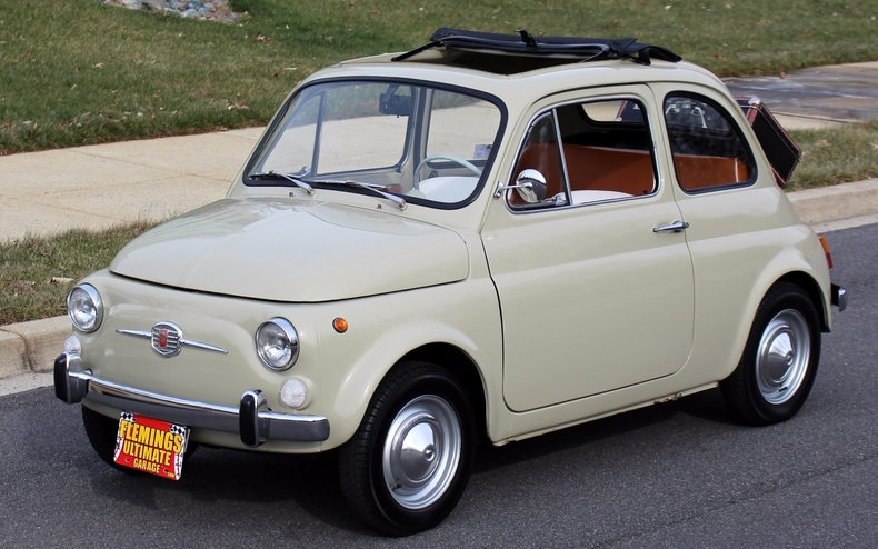 1965 fiat 500 1965 fiat 500 for sale to purchase or buy classic cars for sale muscle cars. Black Bedroom Furniture Sets. Home Design Ideas