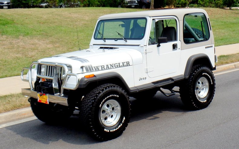 1990 Jeep Wrangler 1990 Jeep Wrangler For Sale To Buy Or
