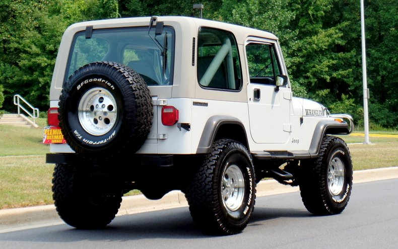 1990 jeep wrangler 1990 jeep wrangler for sale to buy or purchase classic cars for sale. Black Bedroom Furniture Sets. Home Design Ideas