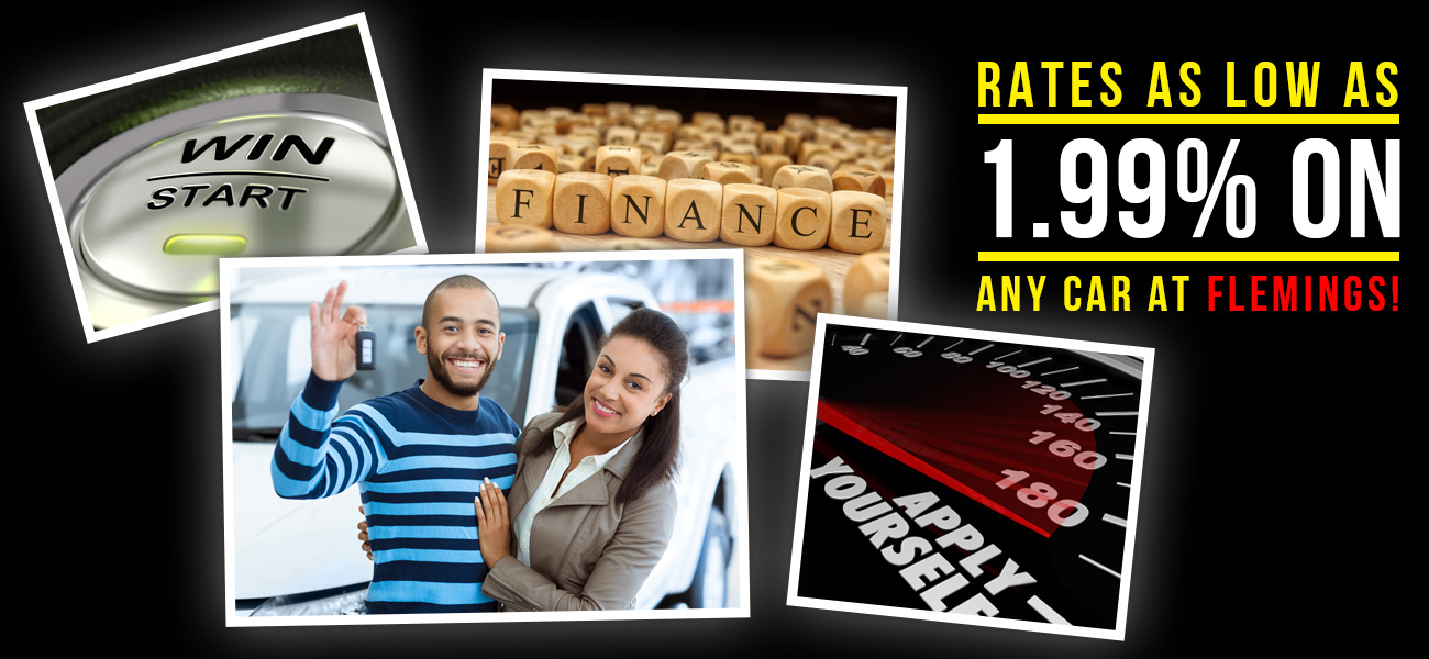Auto Financing from Fleming's Ultimate Garage. As Low As 1.99%