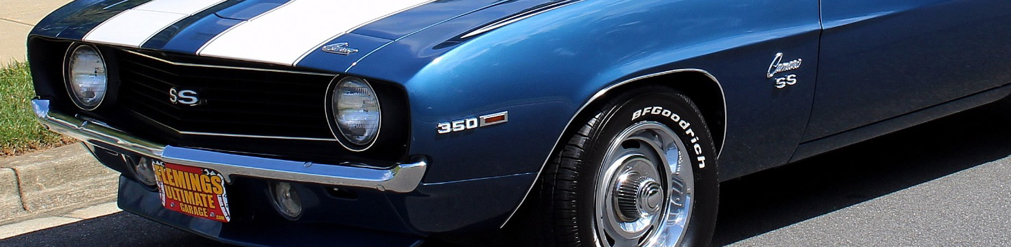 Find A Classic Car or Excotic Car of your dreams. Blue Camaro SS 350 front