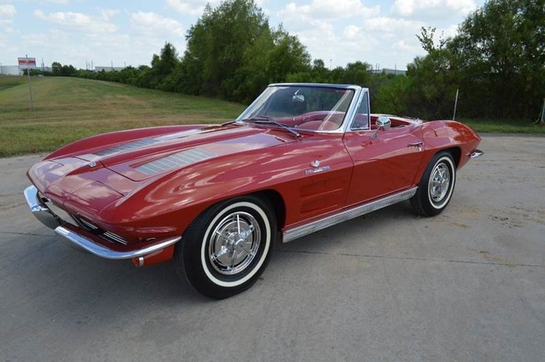 1963 Corvette Stingray Fuelie Convertible