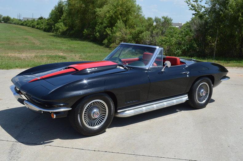 1967 chevrolet corvette stingray frank 39 s car barn. Black Bedroom Furniture Sets. Home Design Ideas