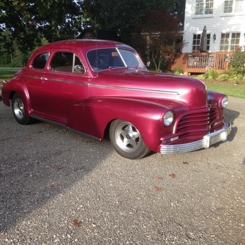1946 chevrolet 2 door coupe gaa classic cars for 1946 chevy 4 door sedan