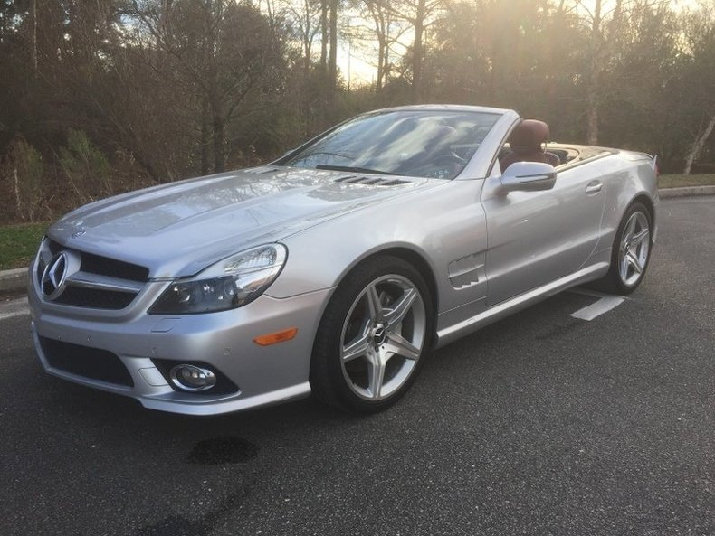 2009 mercedes benz sl550 gaa classic cars for 2009 mercedes benz sl550 silver arrow for sale