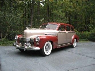 1941年 キャデラック フリートウッド シリーズ 75
