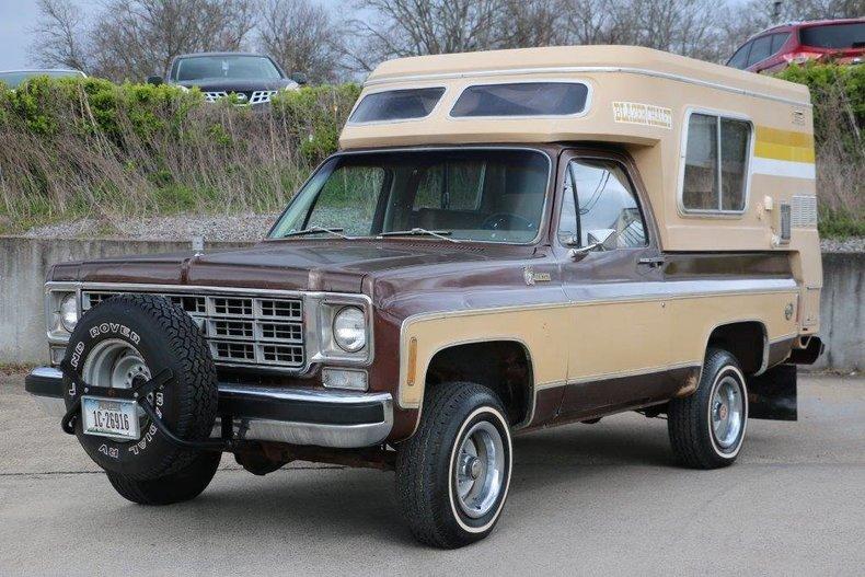 1977 Chevrolet Blazer Chalet
