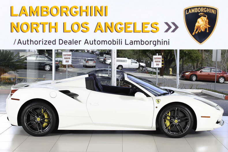 2016 Ferrari 488 Spider - Lamborghini North Los Angeles