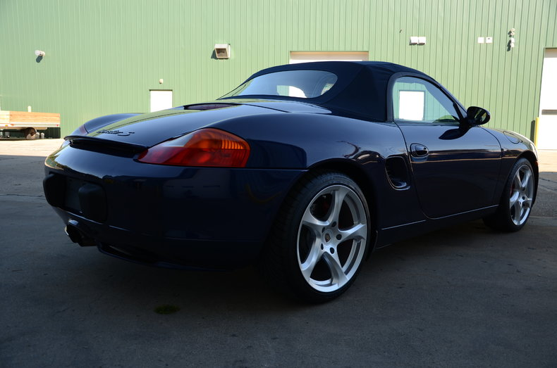 2001 porsche boxster s leadfoot musclecars. Black Bedroom Furniture Sets. Home Design Ideas