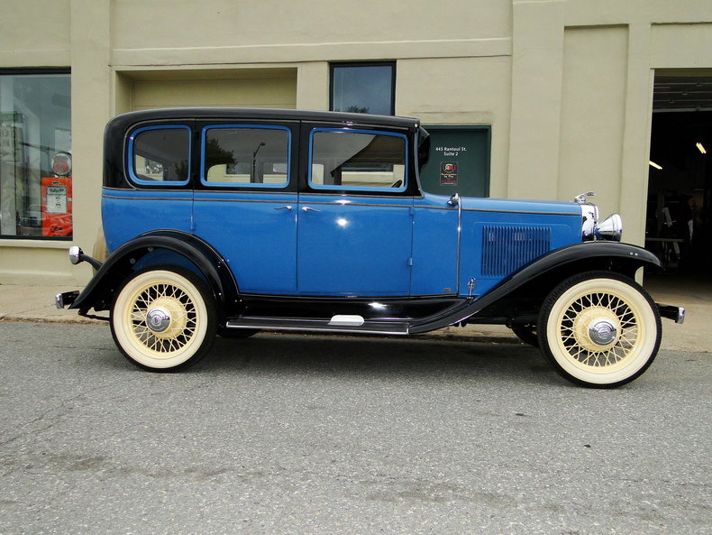 1931 chevrolet sedan legendary motors classic cars for 1931 chevrolet 4 door sedan