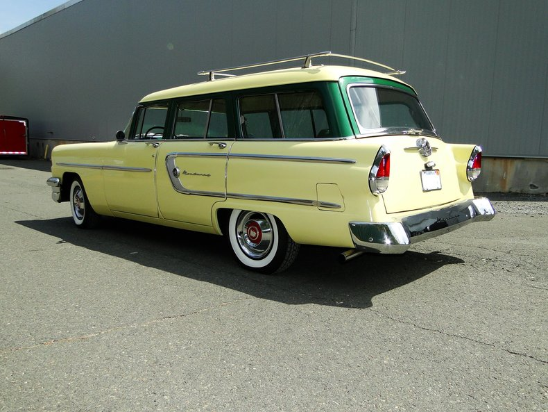 1955 mercury monterey station wagon legendary motors classic cars muscle cars hot rods. Black Bedroom Furniture Sets. Home Design Ideas