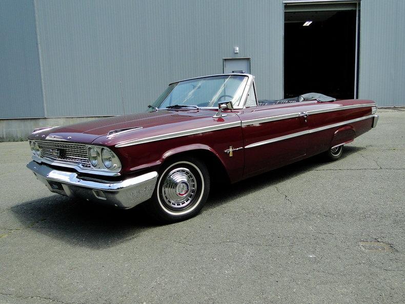 1963 ford galaxie 500 legendary motors classic cars. Black Bedroom Furniture Sets. Home Design Ideas