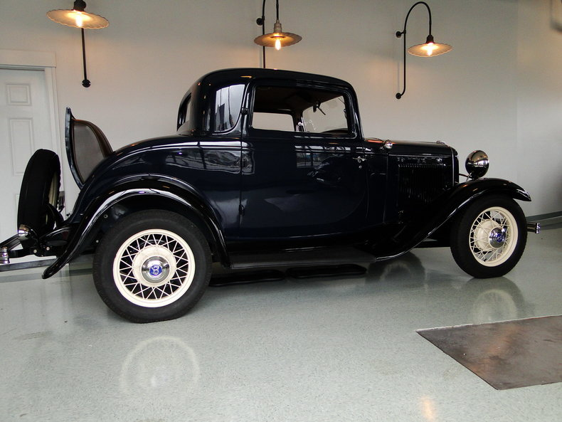 1932 1932 Ford Deluxe 3 Window Coupe For Sale