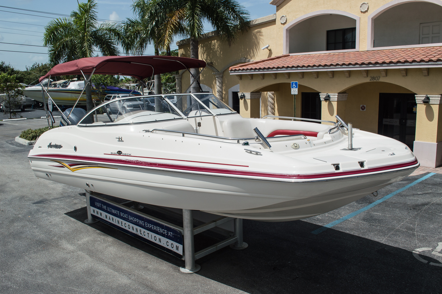 Used 2007 hurricane sundeck sd 237 ob boat for sale in for Hurricane sundeck for sale