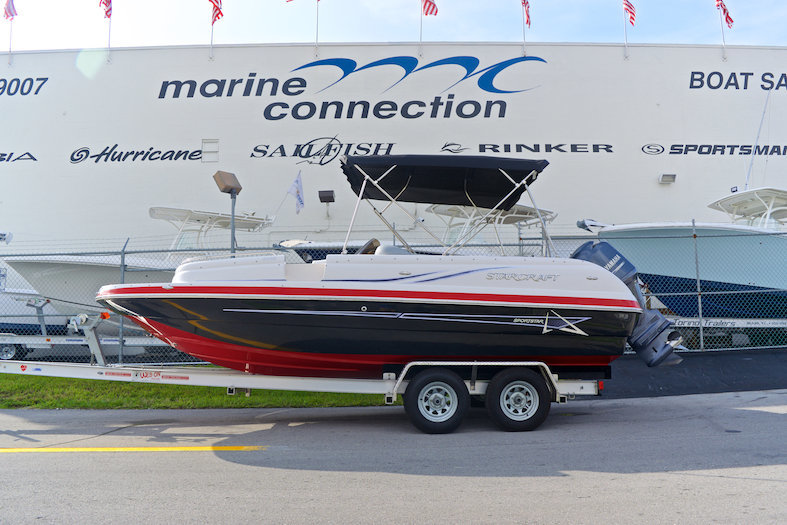 Used 2014 Starcraft 2009 Deck Boat boat for sale in Miami, FL