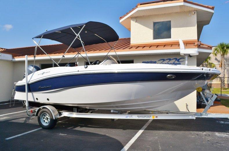 New 2015 Hurricane SunDeck Sport SS 203 OB boat for sale in Vero Beach, FL