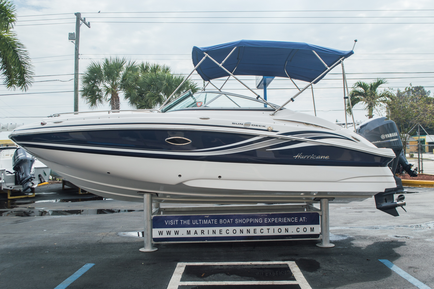 Used 2013 hurricane sundeck sd 2200 ob boat for sale in for Hurricane sundeck for sale