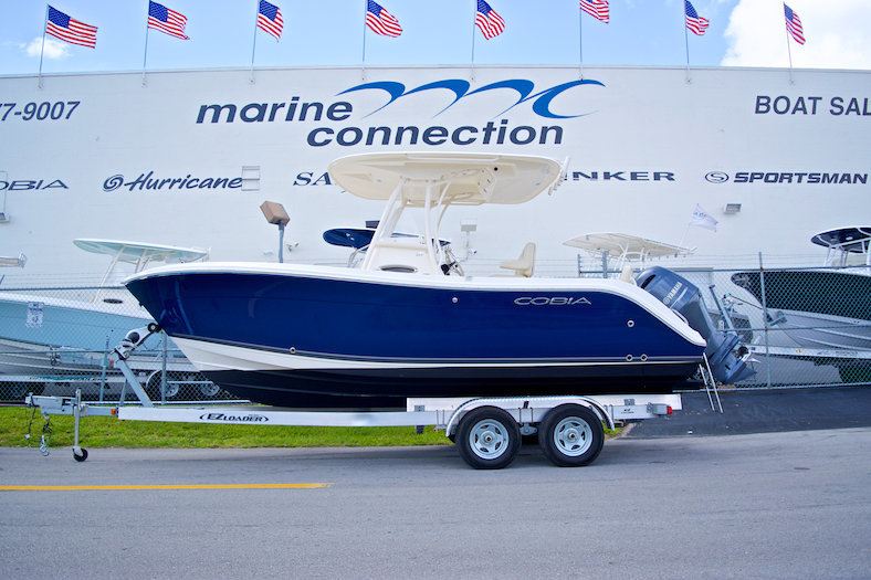 Used 2014 Cobia 217 Center Console boat for sale in West Palm Beach, FL
