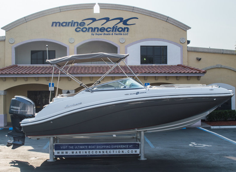 New 2015 Hurricane SunDeck SD 2486 OB boat for sale in West Palm Beach, FL