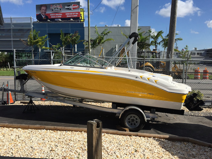 Used 2014 Chaparral 19 H2O SPORT boat for sale in Miami, FL