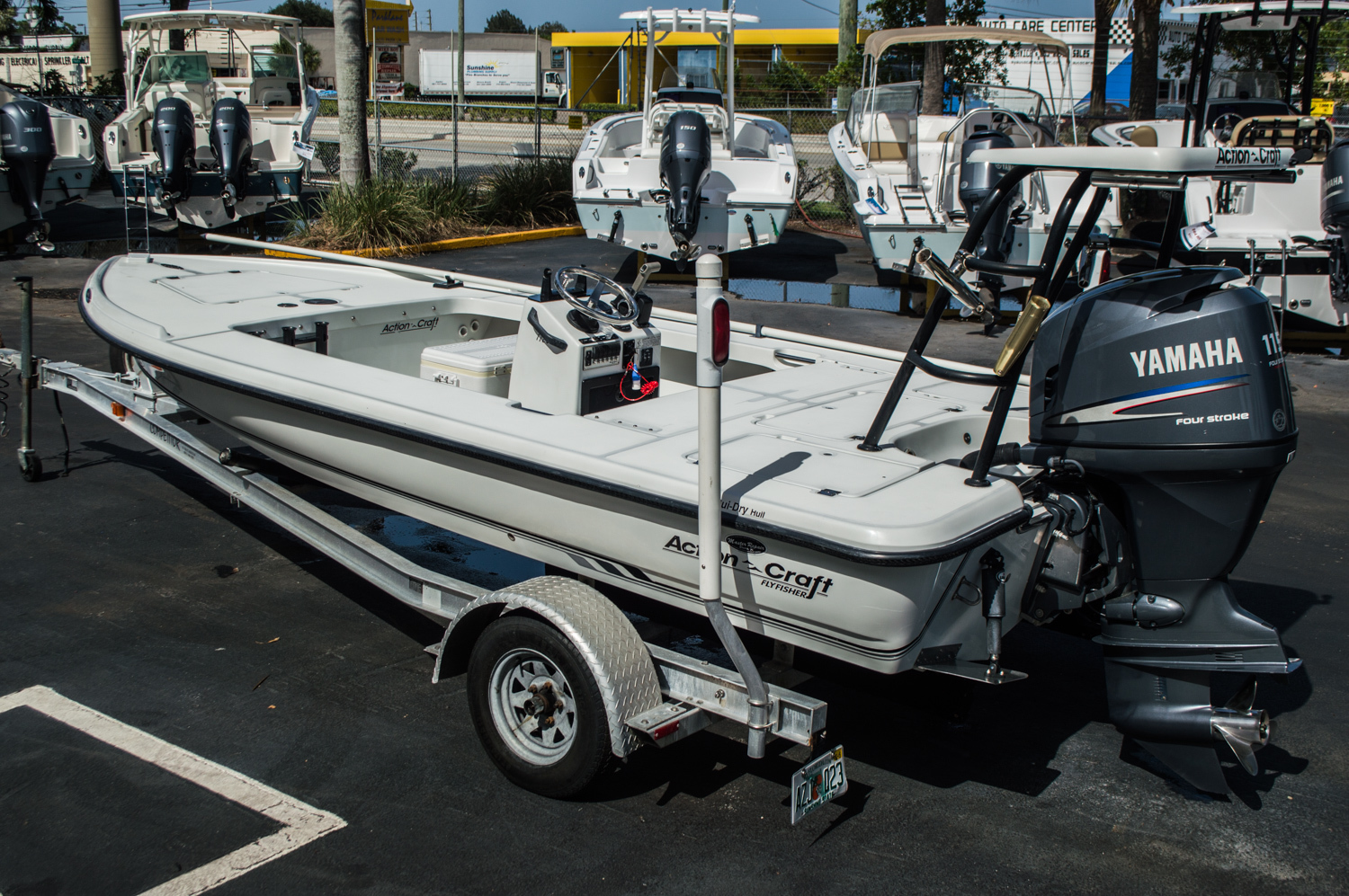 Used 2000 action craft 172 flyfisher boat for sale in west for Action craft boat parts