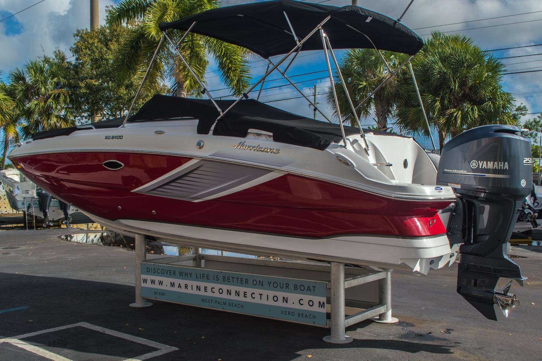 New 2016 hurricane sundeck sd 2400 ob boat for sale in for Hurricane sundeck for sale