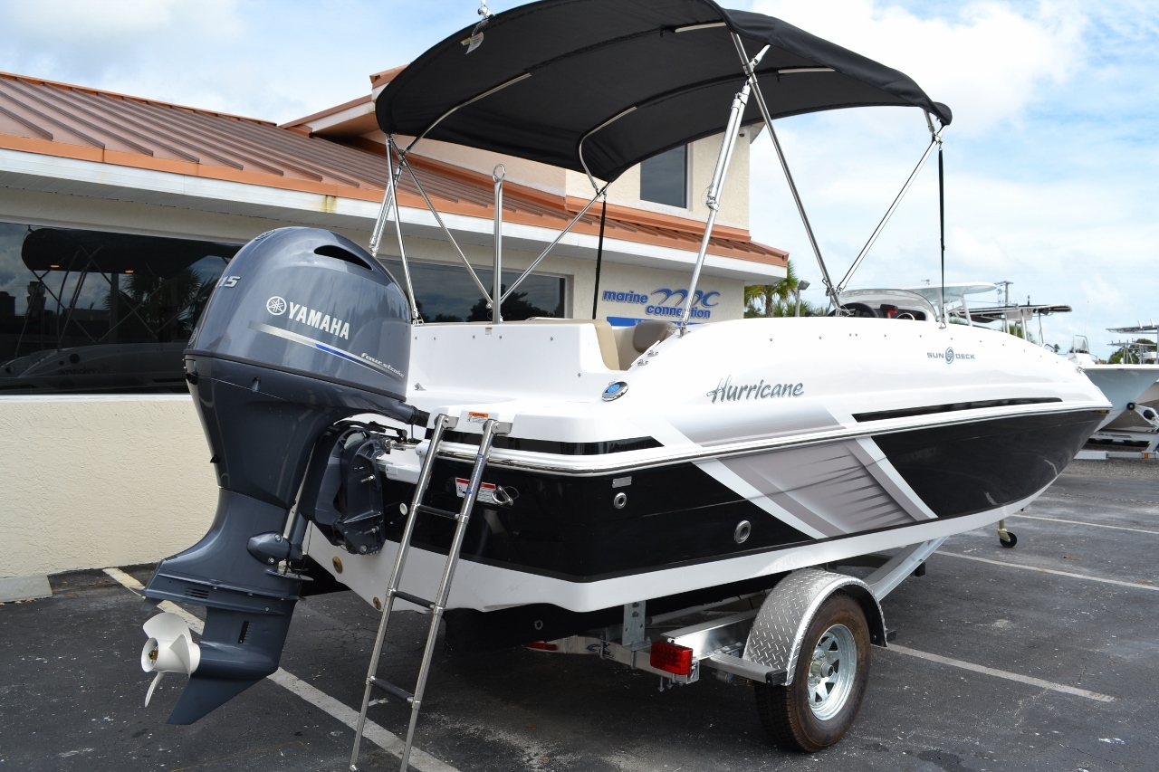 Thumbnail 6 for New 2016 Hurricane SunDeck Sport SS 188 OB boat for sale in Miami, FL