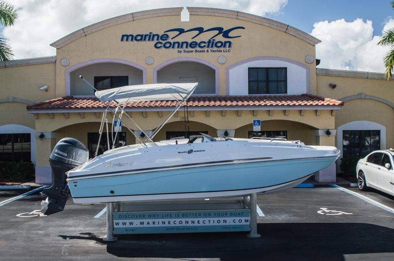 New 2016 Hurricane SunDeck Sport SS 188 OB boat for sale in Vero Beach, FL