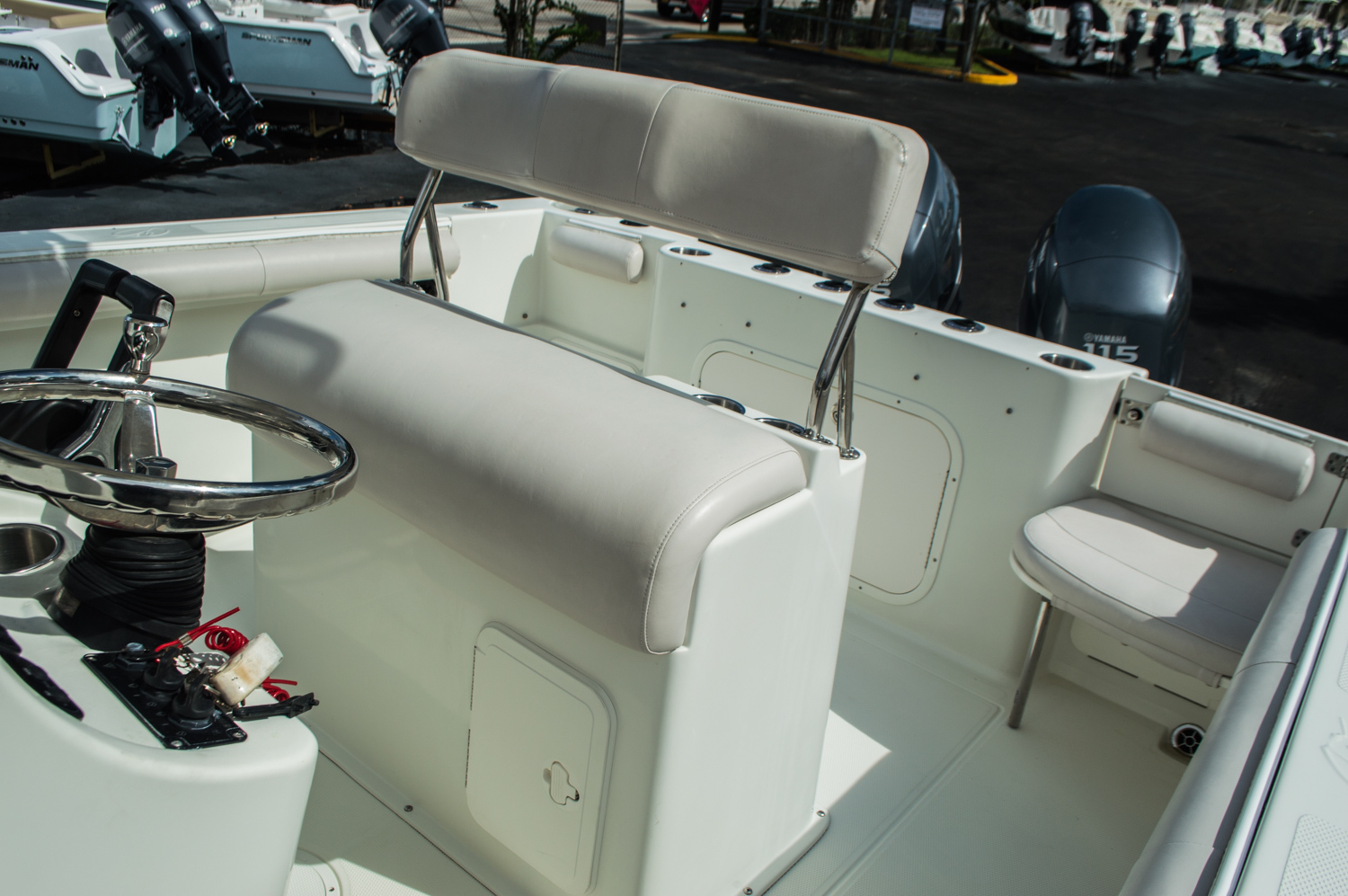 Thumbnail 34 for Used 2006 Sailfish 2360 CC Center Console boat for sale in West Palm Beach, FL