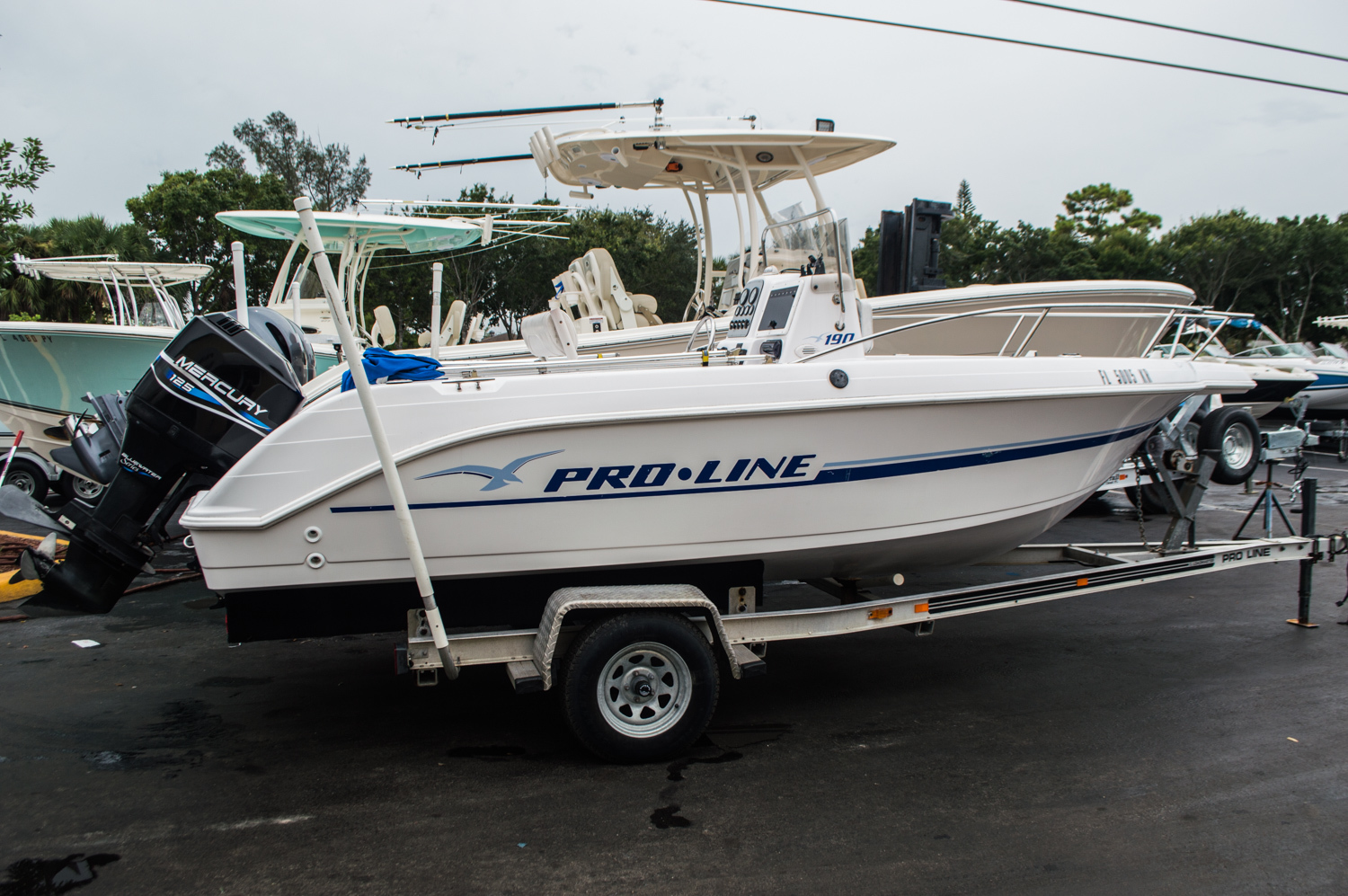 Used 1999 Pro-Line 190 CC Center Console boat for sale in West Palm Beach, FL