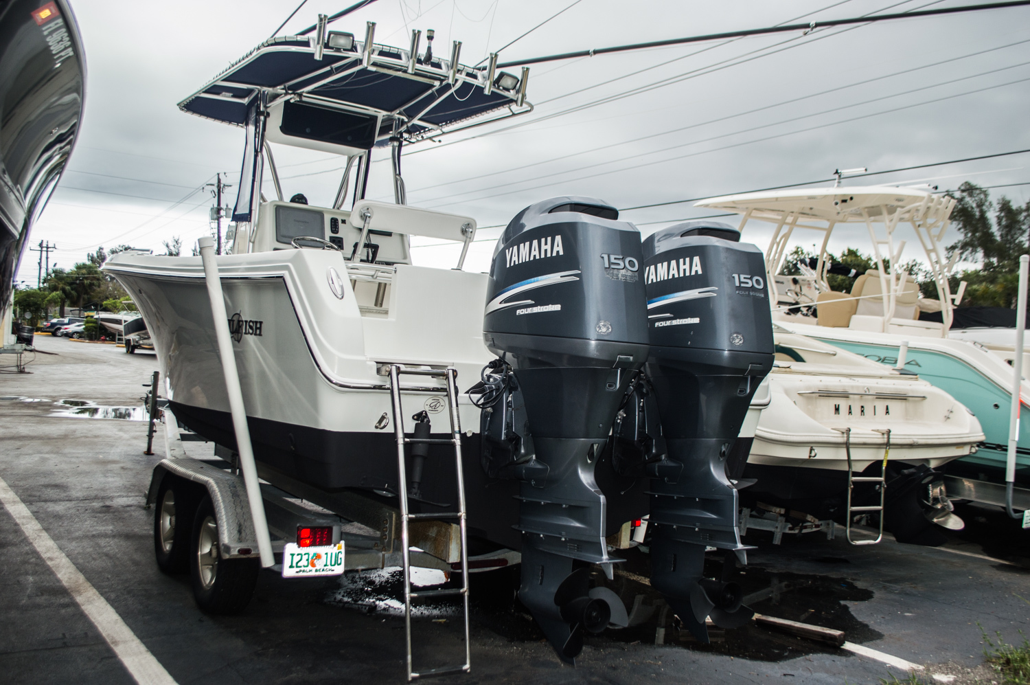 Thumbnail 2 for Used 2007 Sailfish 2360 CC Center Console boat for sale in West Palm Beach, FL