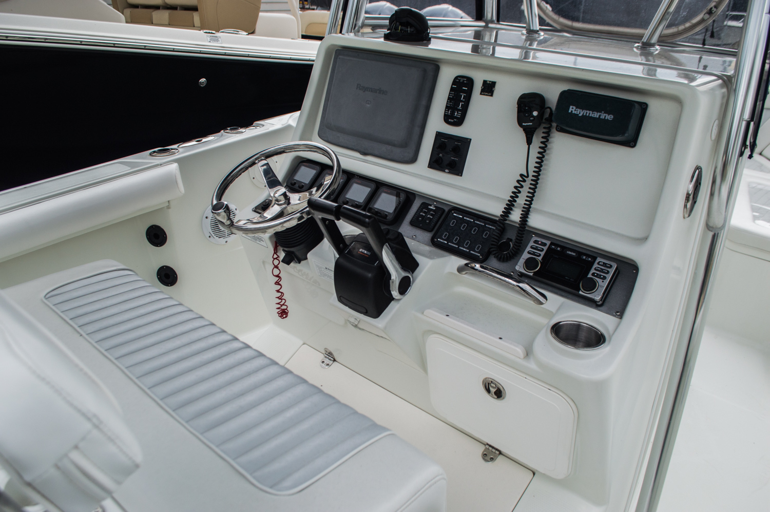 Thumbnail 7 for Used 2007 Sailfish 2360 CC Center Console boat for sale in West Palm Beach, FL