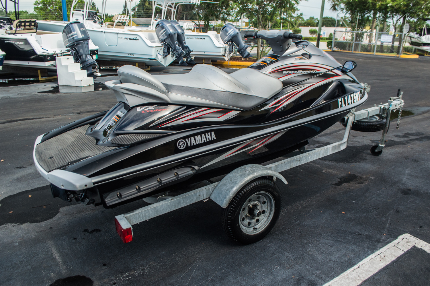 Thumbnail 1 for Used 2007 Yamaha VX Cruiser boat for sale in West Palm Beach, FL