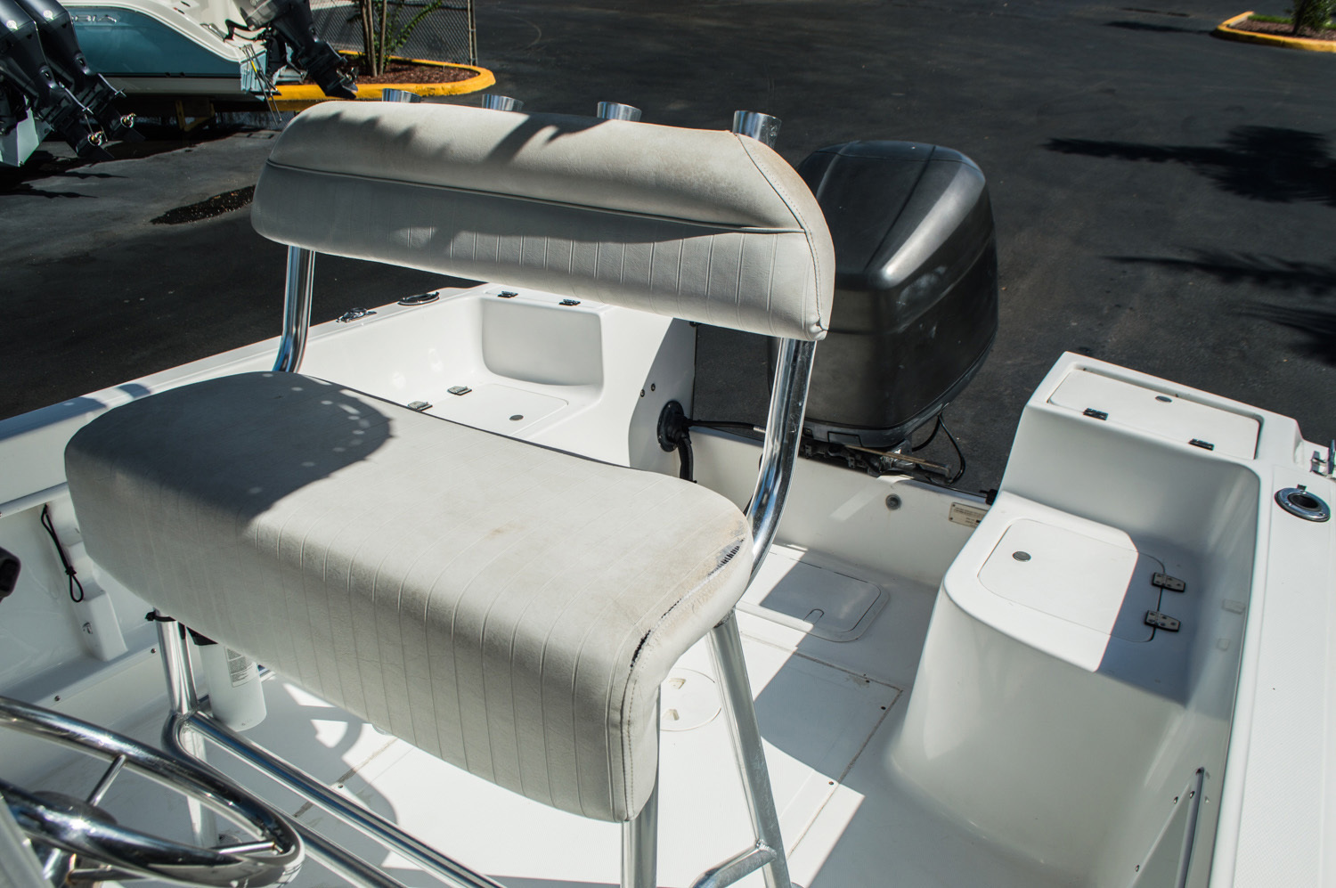 Thumbnail 20 for Used 2002 Angler 204 CC Center Console boat for sale in West Palm Beach, FL