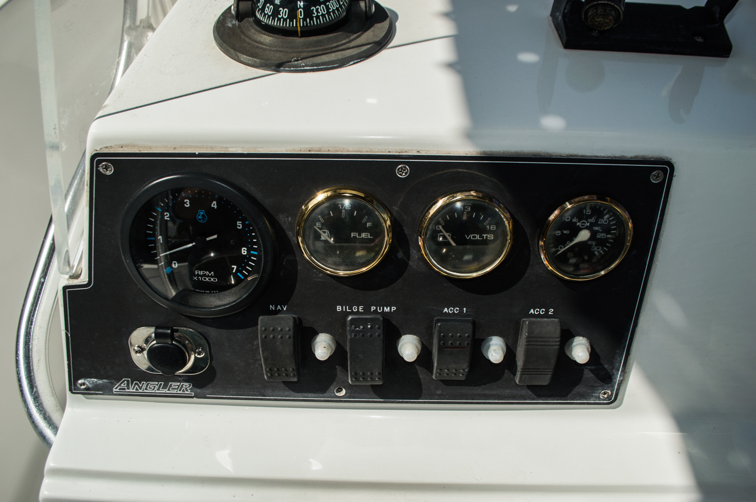 Thumbnail 23 for Used 2002 Angler 204 CC Center Console boat for sale in West Palm Beach, FL